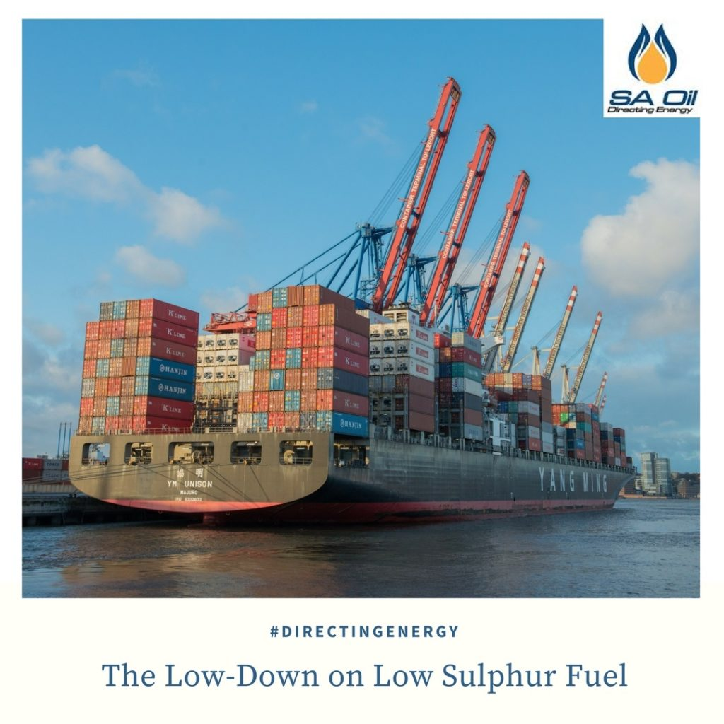 low sulphur fuel