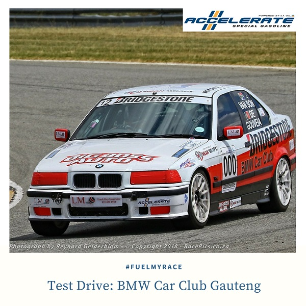 BMW Car Club Gauteng test drives ACCELERATE Special Gasoline