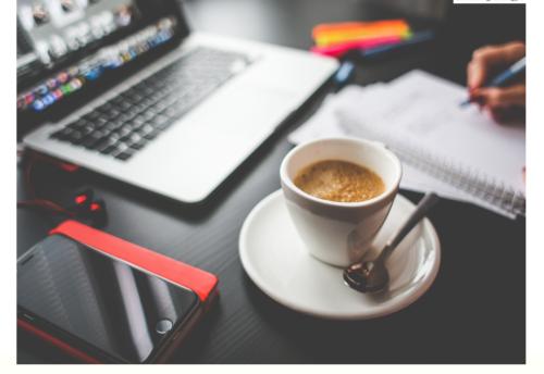 Company-Desk-Work-Laptop-Coffee