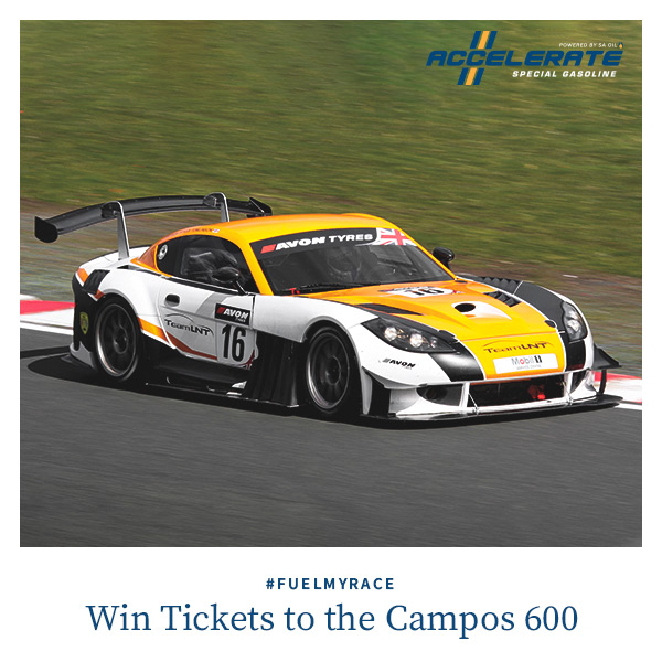 SA Oil is giving away tickets to the endurance race, the Campos 600
