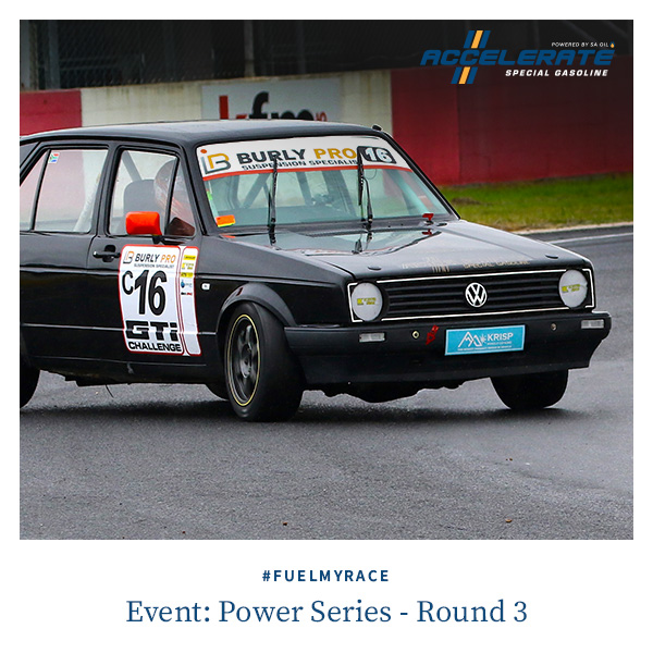Brand Ambassador Giordano Lupini wins again in Power Series Round Three - fuelled by ACCELERATE Special Gasoline