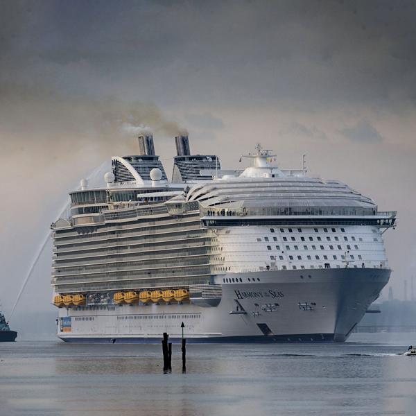 Marine diesel oil fuels Harmony of the Seas