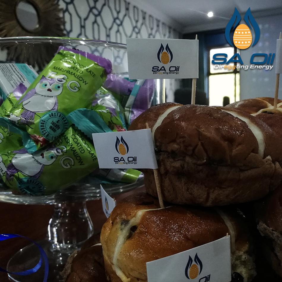 SA Oil Easter team building event treats