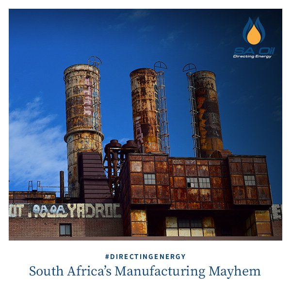 SA Oil discusses the manufacturing industry in South Africa
