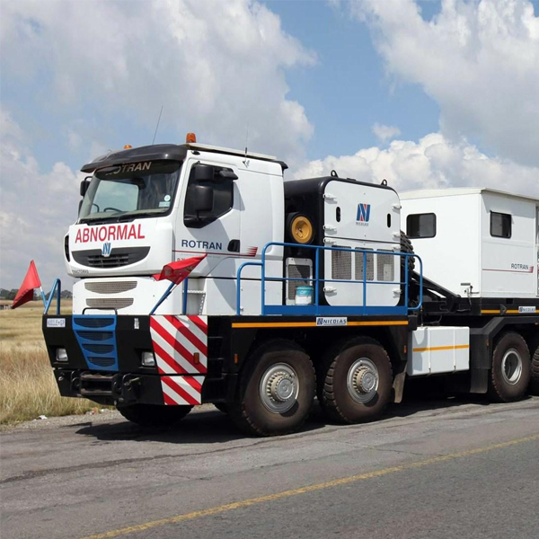 SA Oil talks about the world's biggest diesel trucks