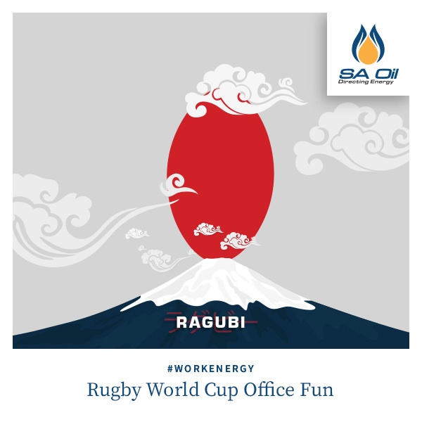 Rugby World Cup Office Fun!